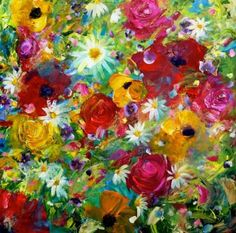 Best 25+ Acrylic painting flowers