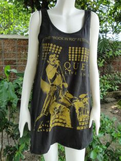 Queen Tank Mini Dress One Size Fits All - $60.00