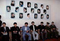 Hiroji Kubota NORTH KOREA. Pyongyang. 1981. Barber shop for more privileged…
