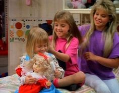 The Girls - DJ, Stephanie & Michelle - tanner-family-and-katsopolis-family-and-joey Photo