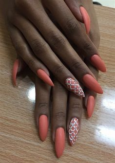 Day 71: Patterned Nail Art