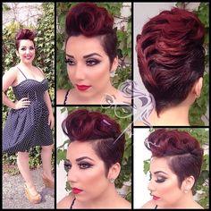 Short hair / pixie cut  - Shop now @ chloeandisabel.com/boutique/silenagaines