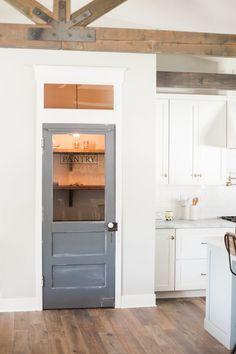 Signature pantry door - by Rafterhouse.