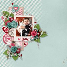 Layout using {I Love You A Latte} Digital Scrapbook Kit by Melissa Bennett and Meghan Mullens available at Sweet Shoppe Designs http://www.sweetshoppedesigns.com//sweetshoppe/product.php?productid=33013&cat=797&page=2 #melissabennettdesigns #wilddandeliondesigns