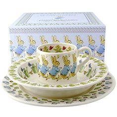 Peter Rabbit Boxed Set of 3 Boxed beatrix potter and emma bridgewater