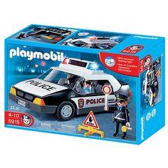 Playmobil Police Car Playset - 5915