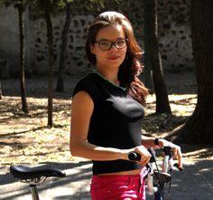Paulina Treviño, actriz, ciclista urbana.