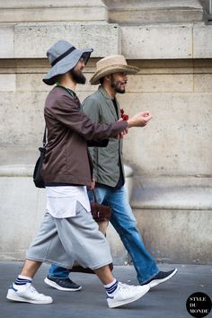 »Motofumi Kogi and Katsuya Suzuki Street Style Street Fashion Streetsnaps by STYLEDUMONDE Street Style Fashion Blog« #hisstyle #fashionstreet