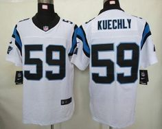 Nike Carolina Panthers  59 Luke Kuechly White Men s Stitched NFL Elite  Jersey Travis Kelce Jersey e0c0b7ed1