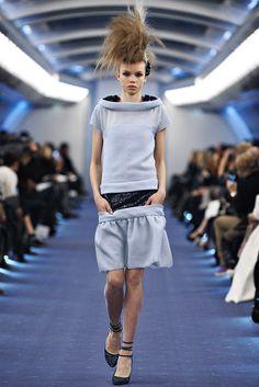 Chanel Spring 2012 Couture Fashion Show - Morgane Warnier (SILENT)