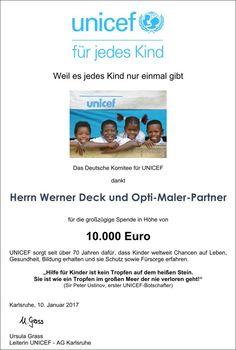 Auf meine Franchise-Partner bin ich sehr stolz. :-) Im Verlauf der Jahre haben wir gemeinsam über € 500.000,00 für den guten Zweck, nämlich für schwache, benachteiligte, kranke und hilfsbedürftige Kinder, zusammengesammelt. :-)