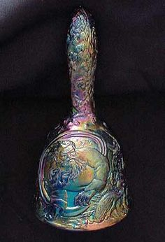 This is the rare Fenton Garden of Eden bell. It's in the collection of Rich Jennings