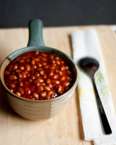 Honey barbecue baked beans with applewood smoked bacon recipe