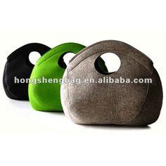 Stylish Simple 100% Wool Felt Bag - Buy Felt Bag,Grey Felt Bag,Wool Felt Bag Product on Alibaba.com
