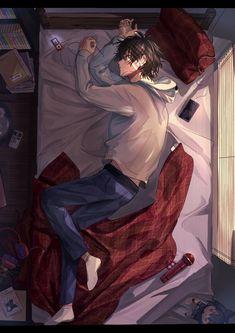 Cool Anime Wallpapers, Anime Scenery Wallpaper, Animes Wallpapers, Arte Emo, Emo Anime Girl, Otaku Anime, Sky Anime, Alone Art, Cool Anime Guys