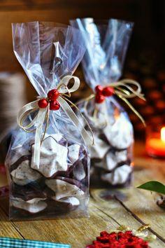 Hoje para jantar ...: Suspiros de chocolate {presentes de última hora}