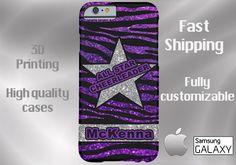 ALL STAR CHEERLEADER Cell Phone Case, cheer cell case, iPhone 6, cheer iPhone 6, cheer iPhone 6 plus cell phone case, cheerleading cell case by DesignsbyLiv15 on Etsy