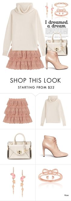 """""""Pastel Skirt 2314"""" by boxthoughts ❤ liked on Polyvore featuring self-portrait, Kerr®, Sonia Rykiel, Diane Von Furstenberg, Opening Ceremony, Stephen Webster and La Preciosa"""