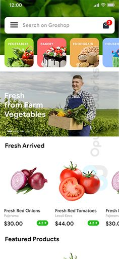 Grocery Ordering Android App Template   Ecommerce iOS App Template (HTML   CSS) (IONIC 5)  Groshop by opuslabworks #Ad #App, #paid, #Template, #Android, #Grocery Ecommerce App, Ios App, Grocery Delivery App, Splash Screen, Red Tomato, Splash Page, Ui Kit, Grocery Store, Android Apps