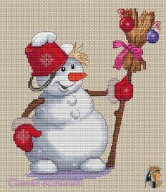 Gallery.ru / снеговик - Все,чтобы встретить Новый год - tamriko-lamara