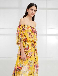 14d93e63968 womens dd Floral Maxi Dress, Dress Skirt, Dress Up, Occasion Wear,  Crinkles. French Connection Usa