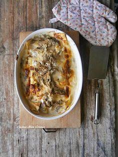 Cucina Mon Amour: Lasagna ai Carciofi Prosciutto Cotto e Ricotta
