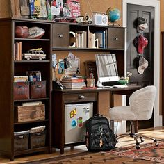 Inspiration:15 office design ideas for teen boys and girls - Home Decorating Trends