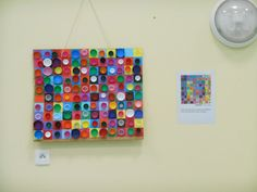 A LA MANIERE DE VASERELY - Le blog des Billantins Group Art Projects, Fall Art Projects, Recycled Art Projects, Op Art, Art Kandinsky, Victor Vasarely, Bottle Cap Art, Ecole Art, Handprint Art