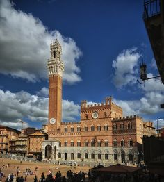 Piazza del Campo, Siena by sdhaddow, Tuscany Italy