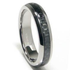 Introducing Titanium 5MM Carbon Fiber Inlay Wedding Band Ring Sz 65. Get Your Ladies Products Here and follow us for more updates!