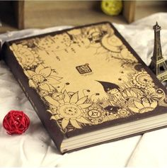 Aliexpress.com : Buy Cute Secrets Note Book Diary For Girls Vintage Hardcover Cartoon Thick Big Journal Good Quality School Supplies from Re...