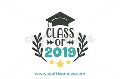 Commemorate your graduation in year 2019 with this wonderful celebratory design cut file. Suitable for cards, scrapbooks and many more.
