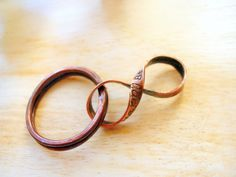 8th Anniversary Gift, Custom Bronze Infinity with Handmade Key Ring, Figure 8, Infinity for Husband -PERSONALIZED