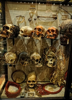 Pitt Rivers Museum, Oxford by sdhaddow, via Flickr