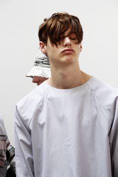Duckie Brown SS15 Backstage