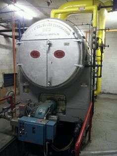 1954 Pacific Steel Boiler