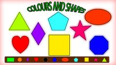 In this videos kids will learn shapes  with the help of colors. #colors #shapes #colorssong #educational #kids #parenting #learning #kidsvideos #babyvideos