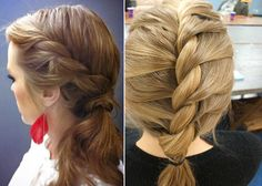 waterfall braid for short hair | the waterfall braid this braid might look complicated but it s ...