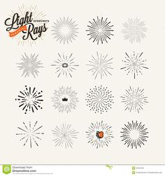 Hand Drawn Light Rays and Starburst Design Elements Stock V on Tattoos Images Tattoo Ideas Hand Drawn Light Rays And Starburst Design Elements Stock Vector Illustration Of Collection Firework are in the right place about traditional tatto Bee Tattoo, Mandala Tattoo, Firework Tattoo, Sparkle Tattoo, Thumb Tattoos, Light Rays, Harry Potter Art, Painted Pots, Disney Tattoos