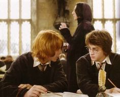 Harry and Ron, Harry Potter and the Goblet of Fire
