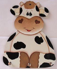 Resultado de imagen para adornos para la cocina con foami con moldes de vacas