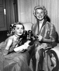 Doris Day and Vera-Ellen.