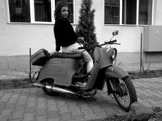 Simson Schwalbe in East Germany, from DDR Zweirad Fanseite