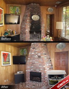 17 best how to clean smoke and soot stains from masonry images rh pinterest com how to get soot off stone fireplace clean soot off stone fireplace