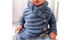 Dětský pletený svetr