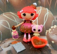 Chocolate is love! #valentinesday #lalaloopsy