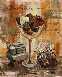 MEU decoupage TRONCO: CHOCOLATE VINTAGE