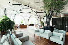 Lounge da Turkish Airways, em Istambul, concebido pelo escritório Autoban