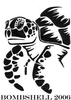 Sea turtle tattoo by bomb-shell on DeviantArt
