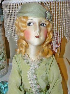 Cloth Boudoir Doll
